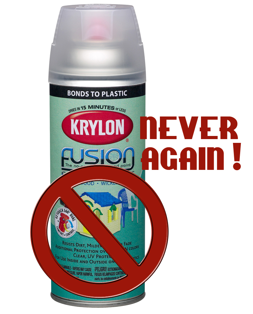 Thrifty Artist The War Of The Spray Paints Krylon Vs Rustoleum