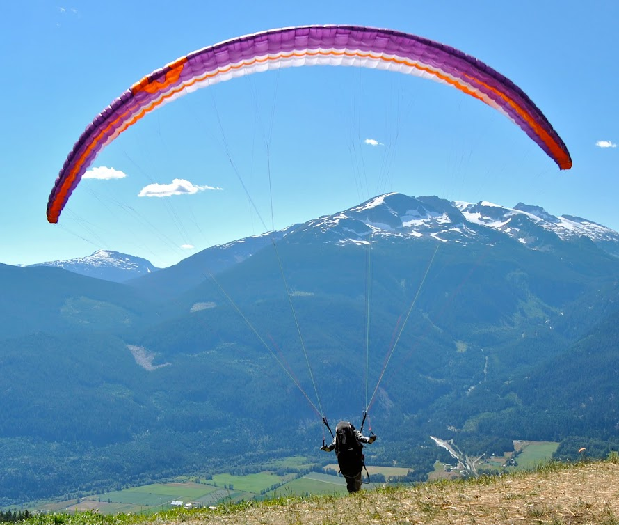 Paragliding in BC
