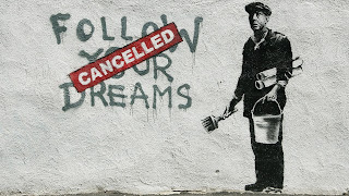 Banksy's latest works tackle technology  - Graffiti Artists