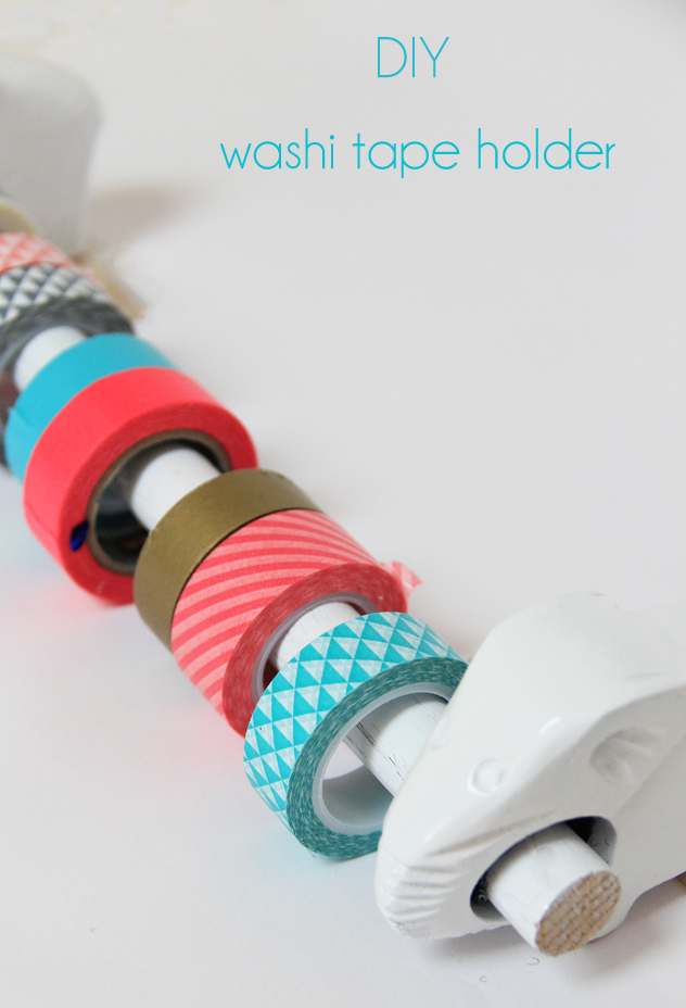 A bubbly life diy washi tape holder for What is washi tape and how do you use it