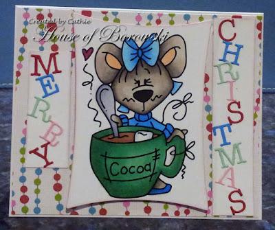 Diecut Divas, Bugaboo Mouse cocoa