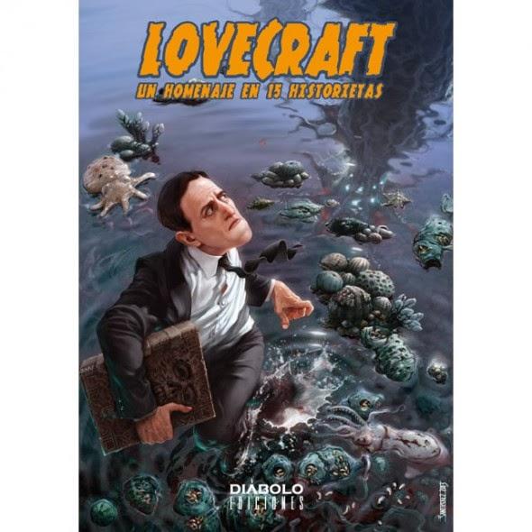 lovecraft homenaje en historietas