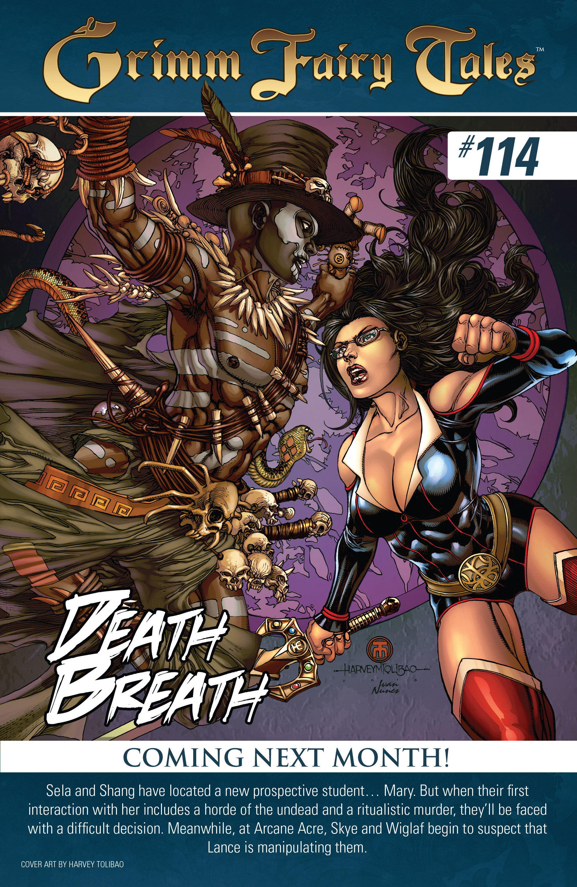 Grimm Fairy Tales (2005) Issue #113 #116 - English 25