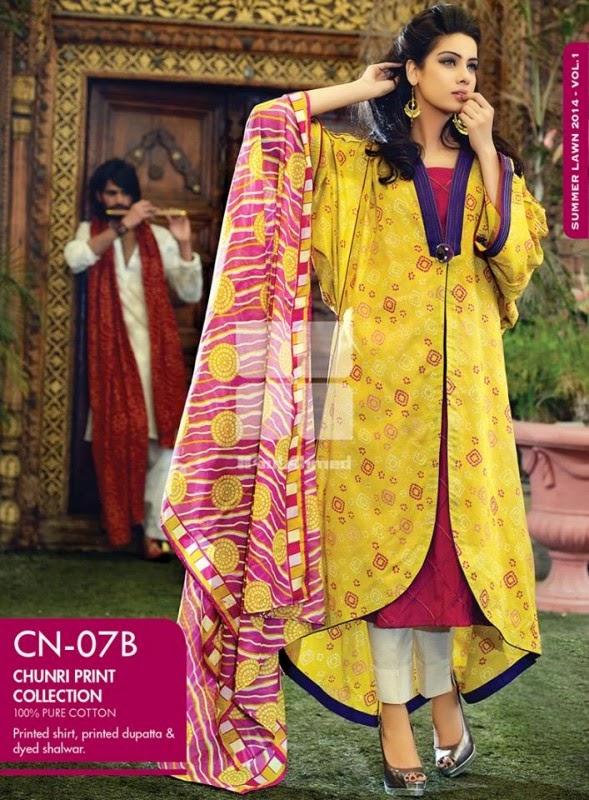 Chunri Dresss Eid ul Adha Collection by Gul Ahmed