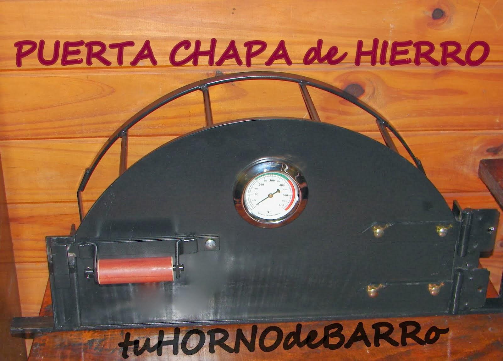 PUERTA CHAPA de HIERRO