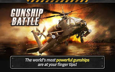 GUNSHIP BATTLE Helicopter 3D APK + DATA + MOD Download