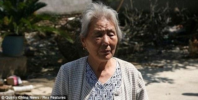 Chen Jiufang, ibu kepada  Hong Chunlin
