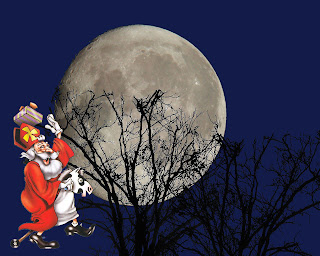 Leke Sinterklaas achtergrond