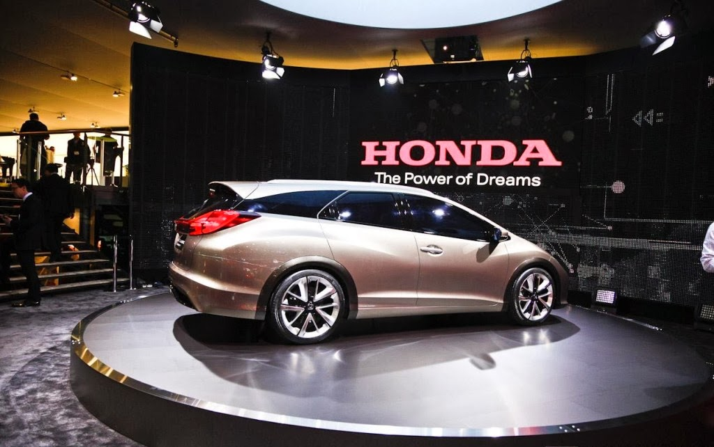 Honda Civic Tourer Concept HD Pictures