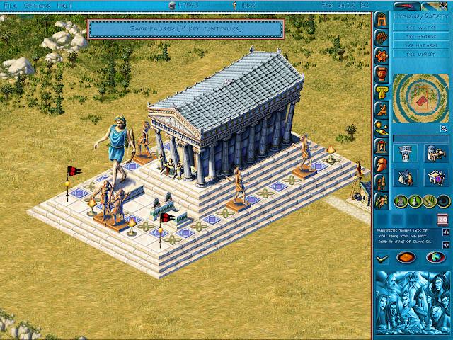 Poseidon: Master of Atlantis - Sanctuaries Screenshot