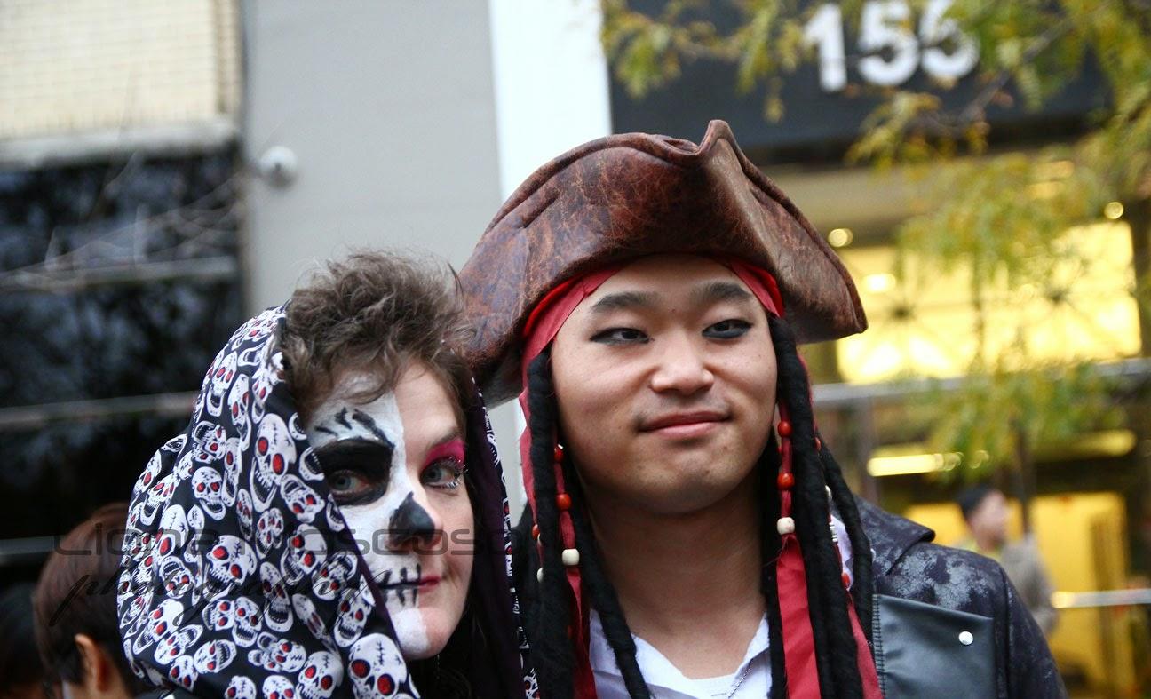 New York's Village Halloween Parade 2014
