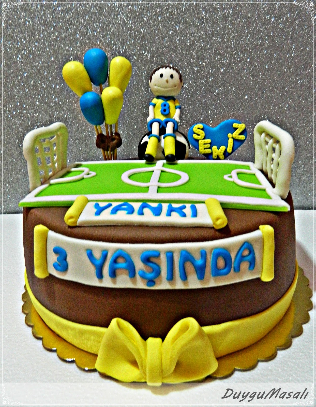 3 yaş butik pasta