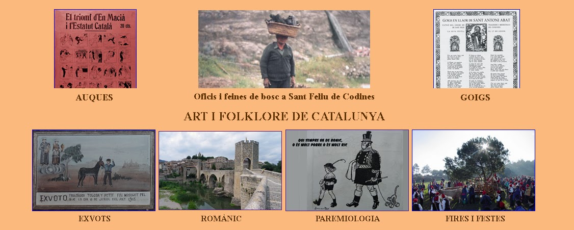 Art i folklore de Catalunya