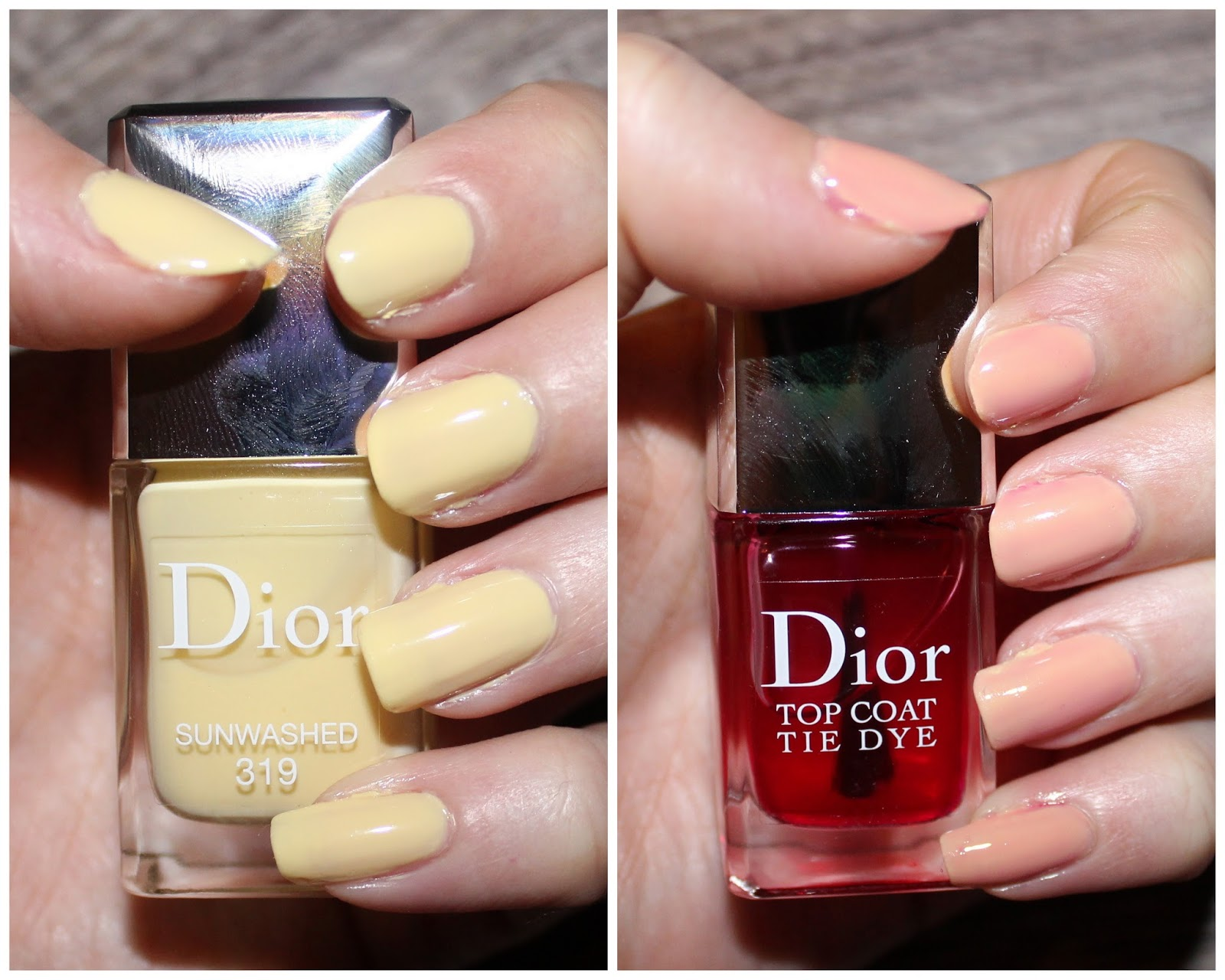 Dior Vernis Sunwashed & Tie Dye Top Coat