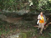 La font de l'Estevet sota la bauma