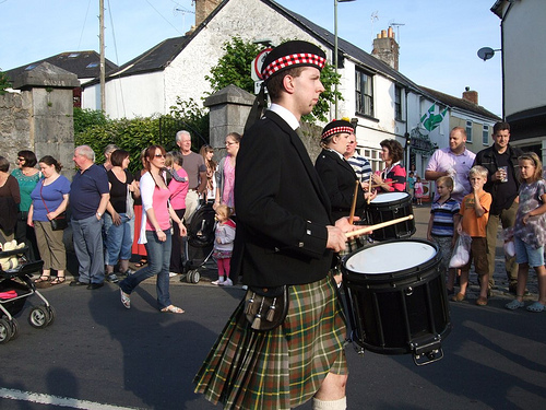 Chudleigh Carnival drummers