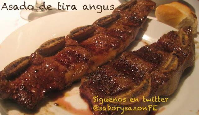 Como preparo un ASADO DE TIRA ANGUS - Receta y video http://comopreparoun.blogspot.com