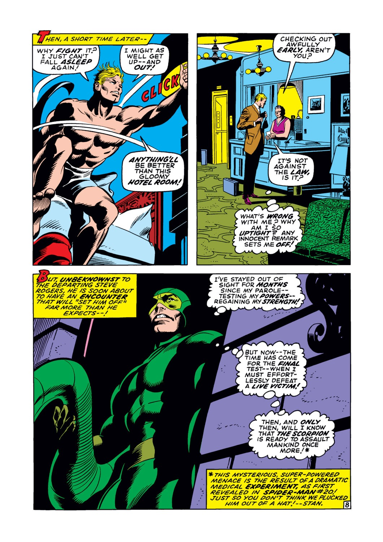 Captain America (1968) Issue #122 #36 - English 9