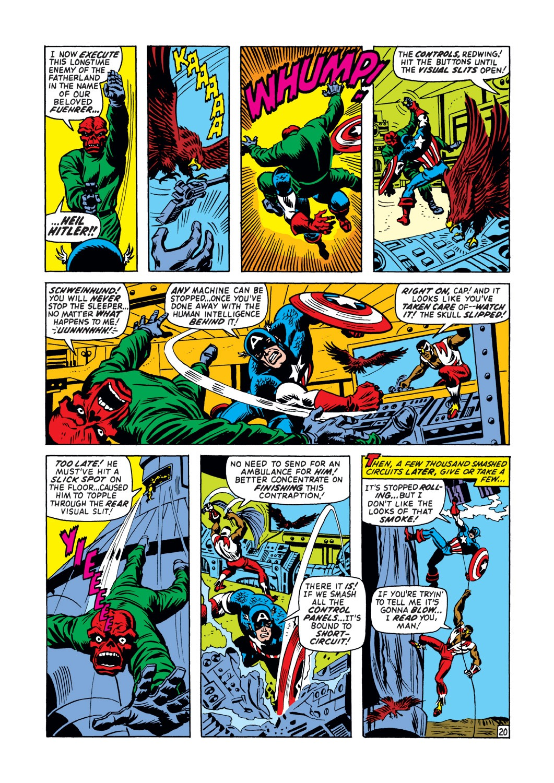 Captain America (1968) Issue #148 #62 - English 21