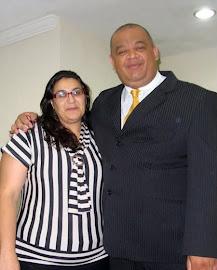 Pr.Gilberto Rezende e sua esposa Miss. Elaine Rezende