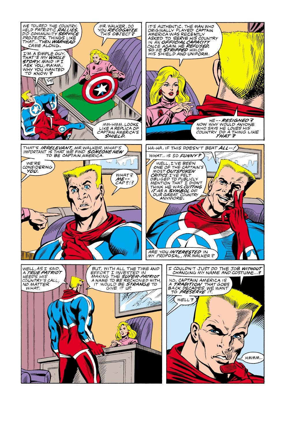 Captain America (1968) Issue #333 #262 - English 10
