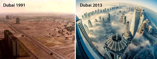 Perkembangan Kota Dubai Sangat Cepat