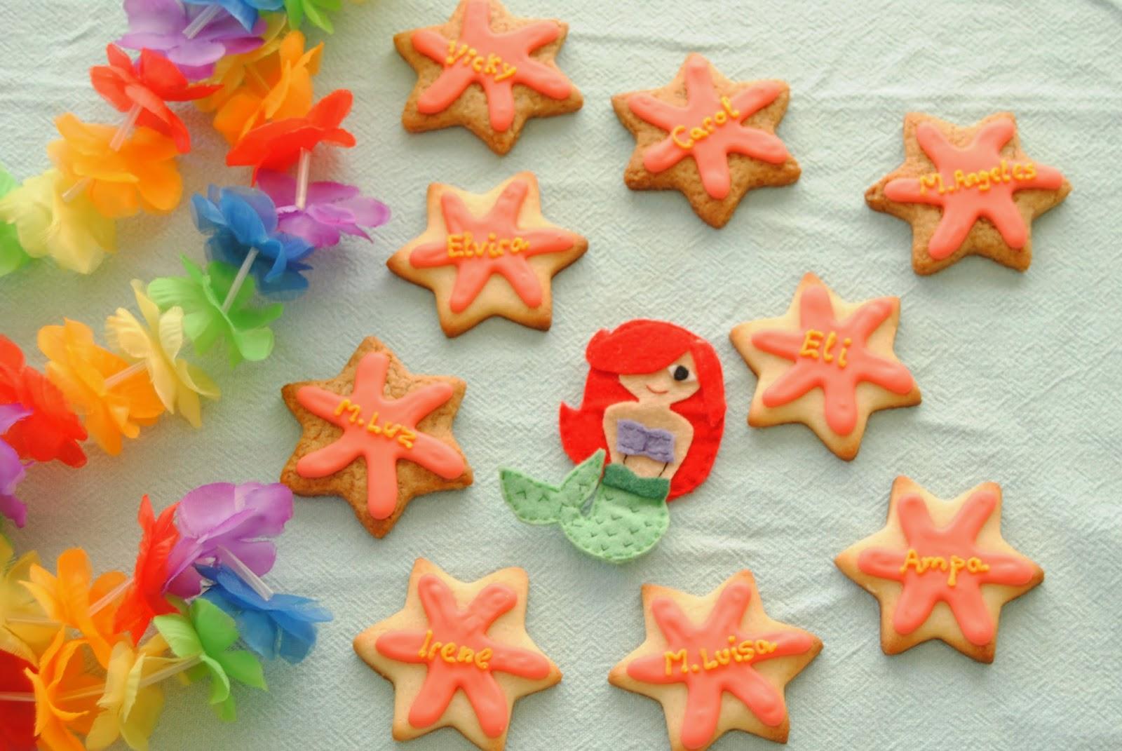 galletas de mar: