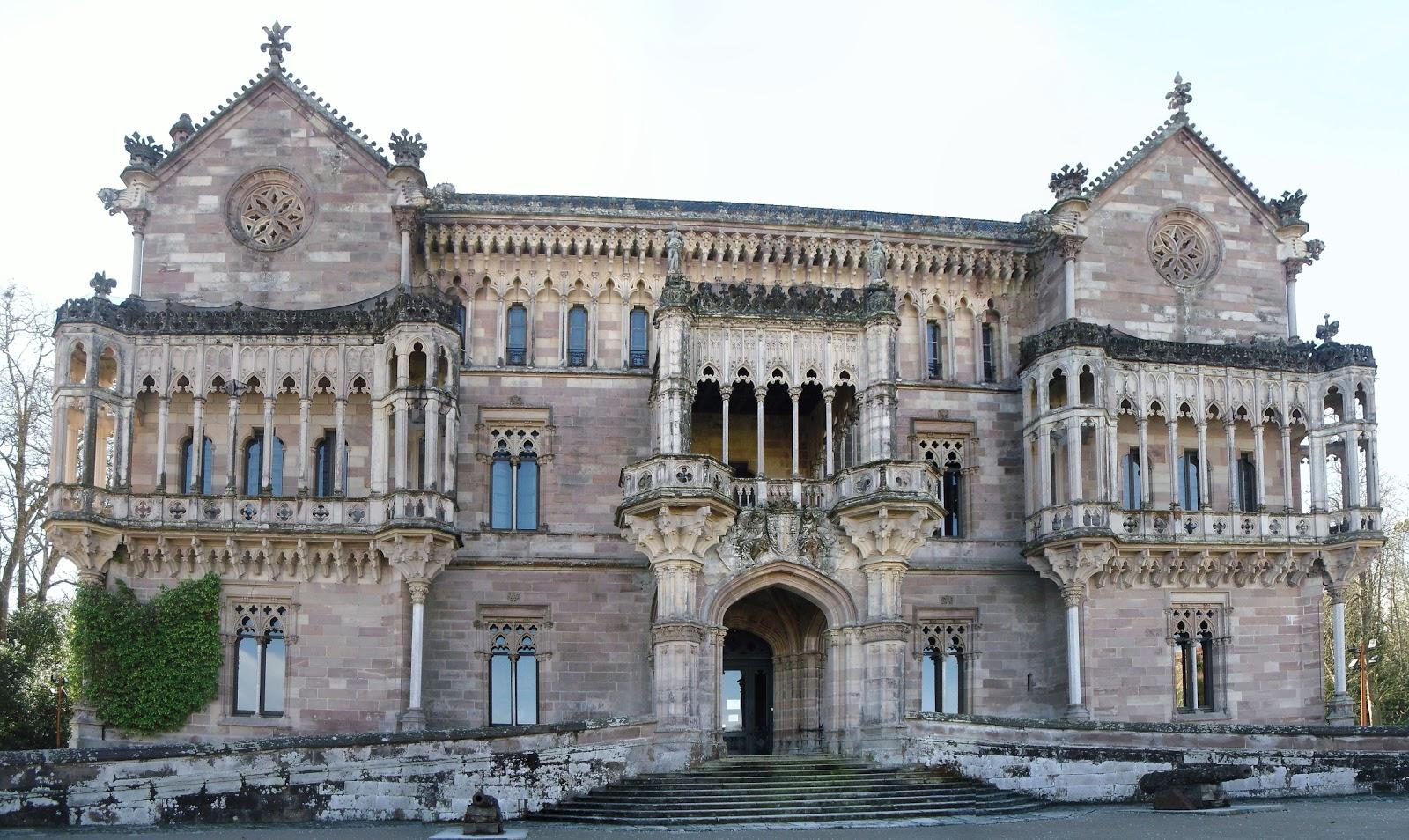 La Residençia Palacio+de+Sobrellano+en+Comillas+2