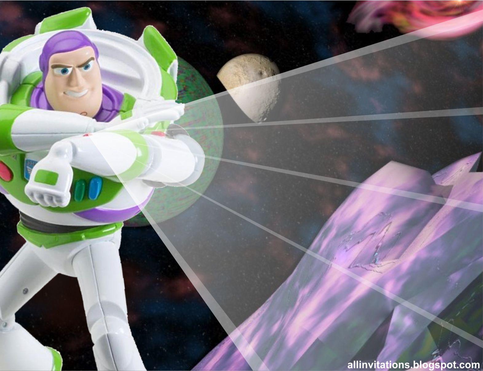 Invitación Cumpleaños Buzz Lightyear | All Invitations
