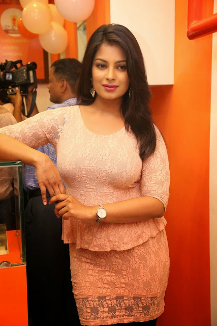 Akanksha Stills At The Thickshake Factory Opening