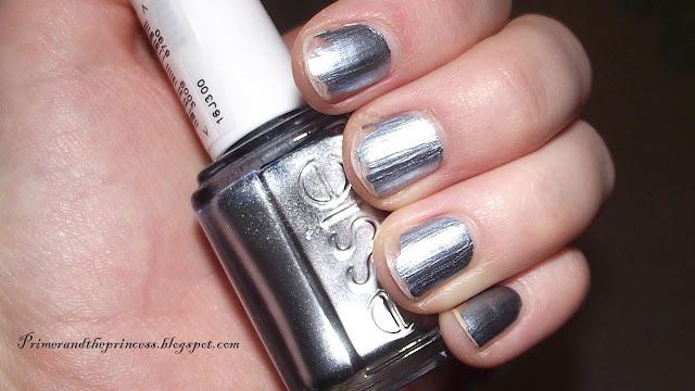 Essie Metallic Collection Nail Polish Review - Blue Rhapsody