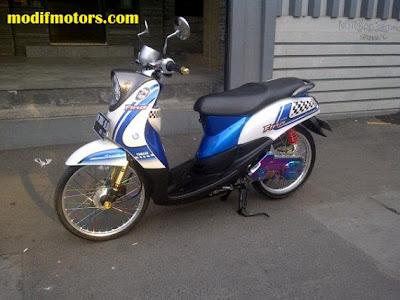 Gambar Modifikasi Yamaha Mio Fino