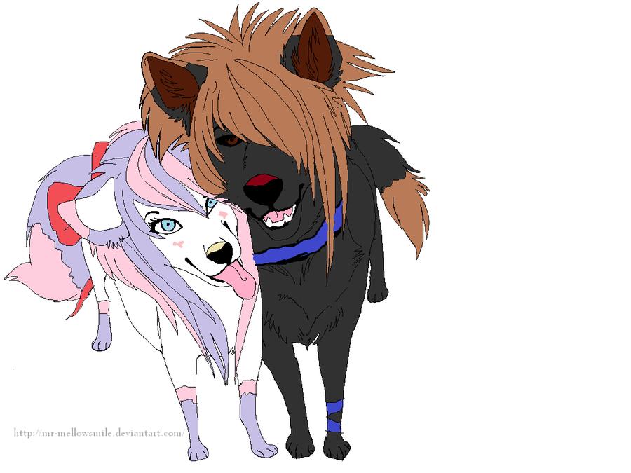 anime wolf: anime wolf love