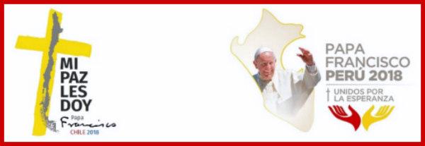 VIAJE APOSTOLICO DE FRANCISCO A CHILE Y PERU COMPLETO (Clic en la imagen)