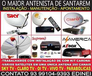Instalação e manuntenção em Antenas (93) 99104-9393