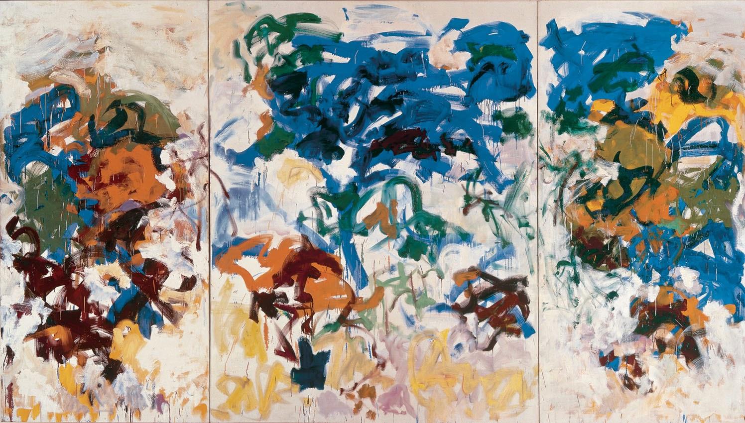 Prism of threads joan mitchell for Bilder modern art