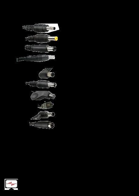 laptop adapter pin list
