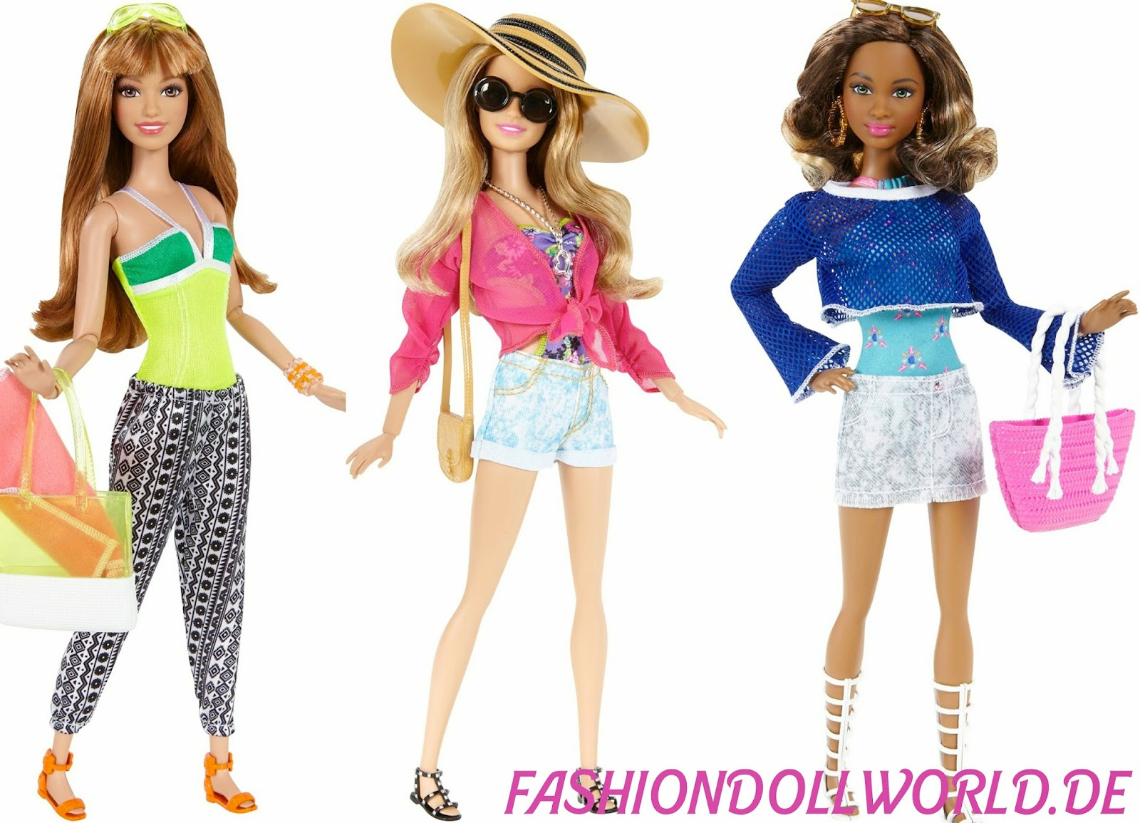 Barbie Fashionista 2015 Barbie Ferienspa Fashionistas