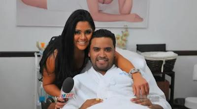 Lennox y su esposa