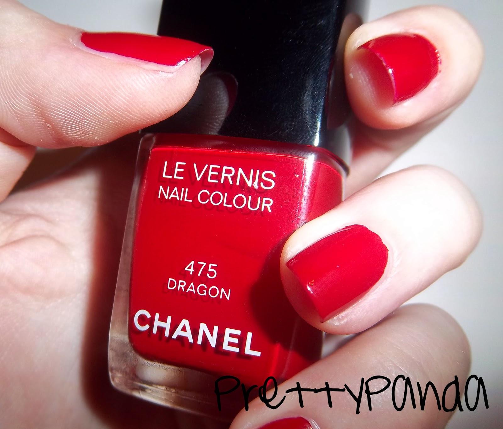 PrettyPanda: Chanel Dragon: Nail Polish Swatches And Review
