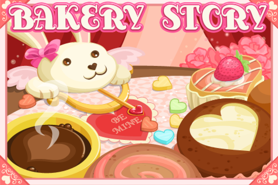 I Just Installed Bakery Story: Valentine Edition 2012 And Am Very Excited  To Get Started On It! There Is So Much Pink And Red Cuteness In This  Version ...