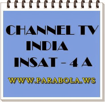 channel tv india - satelit insat 4a