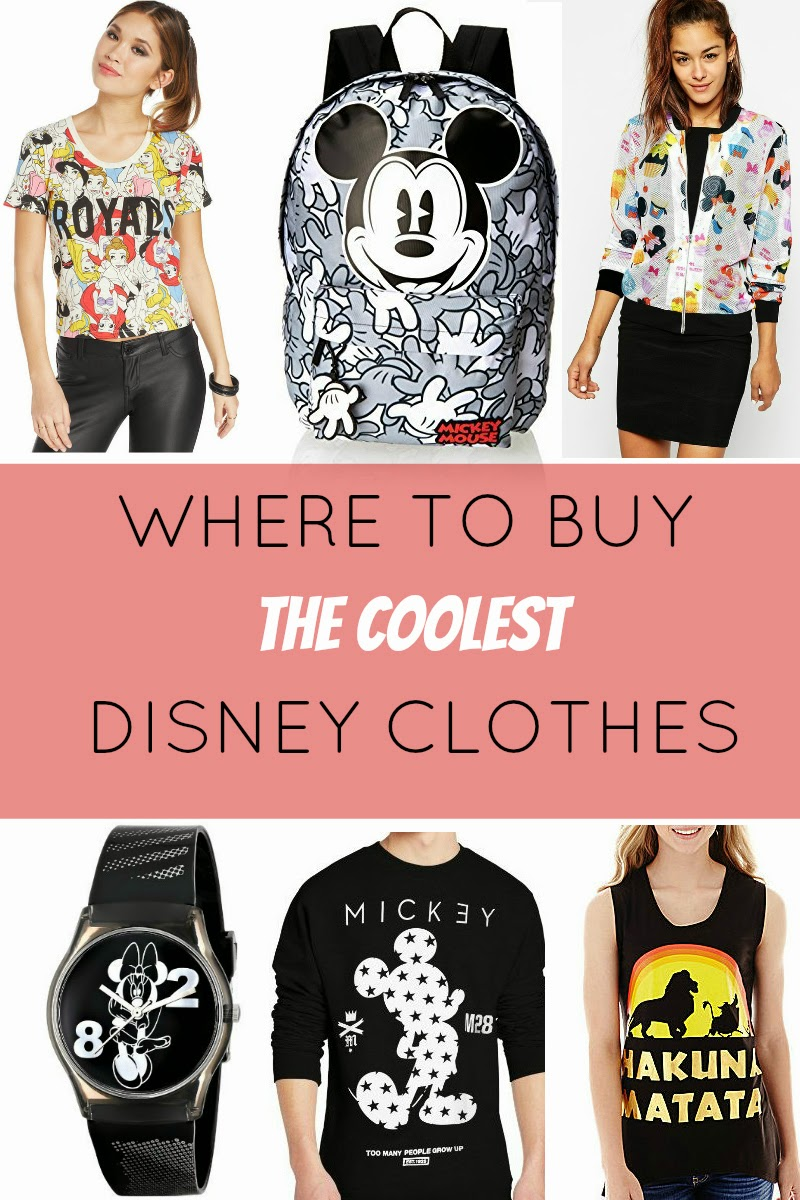 Where to Buy the Coolest Cheap Disney Clothes