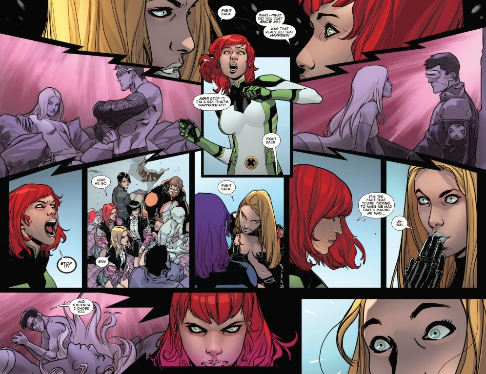 All-New X-Men #30 interior art jean grey Sara Pichelli