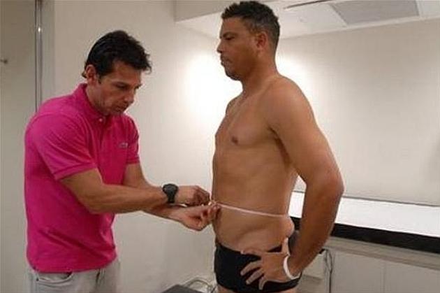 ¡Ronaldo adelgazó 20 kilos en un reality!