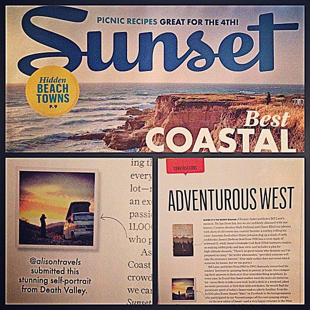 Alison Travels July Issue Of Sunset Magazine