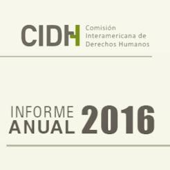 CIDH Informe Anual 2016