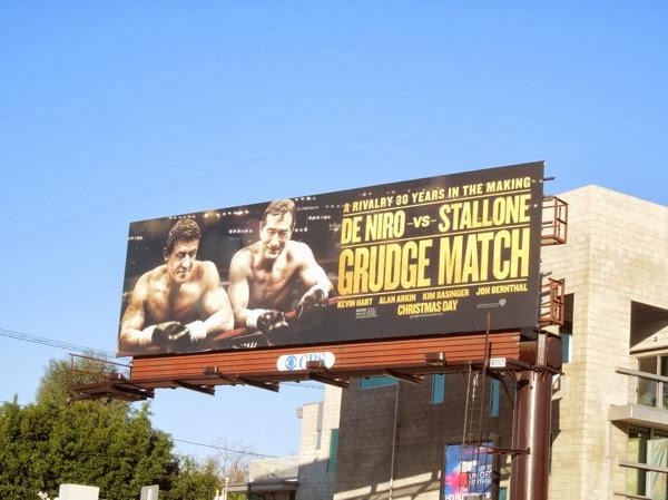 Grudge Match movie billboard