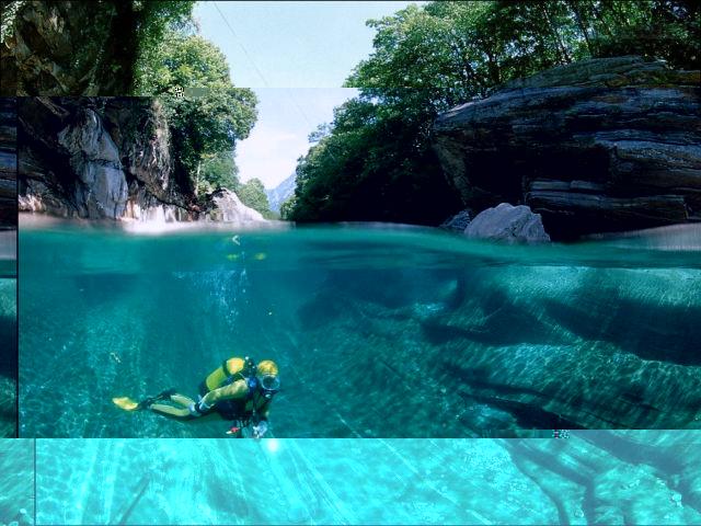 يعتبر نهر فيرزاسكا في سويسرا أنقى