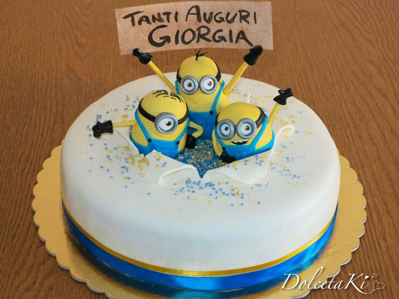 Assez Dolcetaki: Torta Minions JH86